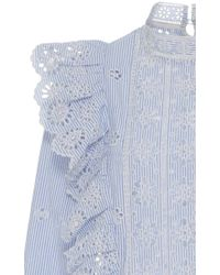 Sea - Multicolor Exploded Eyelet Ruffle Top - Lyst