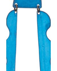 Annie Costello Brown - Matisse Blue Ox Earrings - Lyst