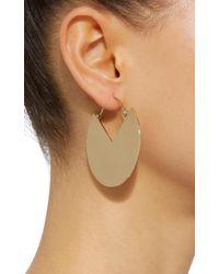 Isabel Marant - Metallic Pacman Gold-tone Brass Earrings - Lyst