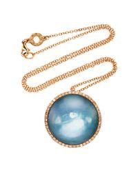 Roberto Marroni - Metallic Surround Necklace - Lyst