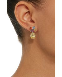 Anabela Chan - Metallic M'o Exclusive Rainbow Lily Earrings - Lyst
