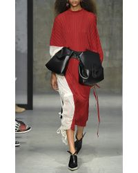 Marni - Asymmetrical Earrings With Horn In Red - Lyst