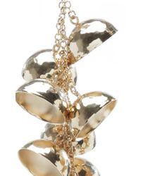 J.W.Anderson - Metallic Hammered Bell Earrings - Lyst