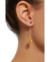 Yi Collection - Yellow 18k Gold Sapphire And Citrine Earrings - Lyst