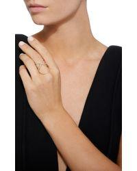 Charlotte Chesnais | White Xo Ring | Lyst
