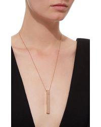 Diane Kordas - Pink Amulette Pendant With Diamonds - Lyst