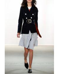 Dorothee Schumacher - Blue Striped Adventure Skirt - Lyst