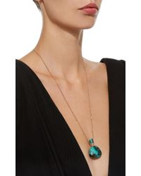 Jacquie Aiche - Blue Medium Triangle Turquoise Potion Bottle Necklace - Lyst
