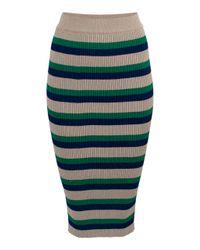 Baum und Pferdgarten   Green Catalina High Waist Skirt   Lyst