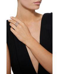 SHAY - White Closed Mixed Diamond Ring - Lyst