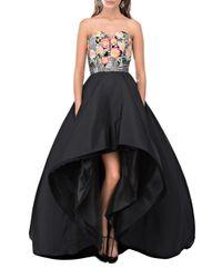 Bambah - Black Rainbow Uprise Gown - Lyst