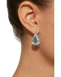 Renee Lewis - White Antique Aquamarine Teardrop Earrings - Lyst