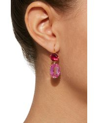 Renee Lewis - Multicolor Antique Sapphire And Ruby Earrings - Lyst