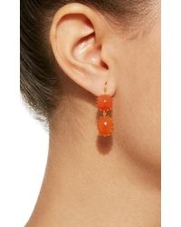 Renee Lewis | Orange Antique Cornelian Earrings | Lyst