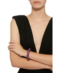 Mark Davis - Purple Evelyn Bangle - Lyst