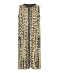Bottega Veneta - Multicolor Soft Anaconda Dress - Lyst