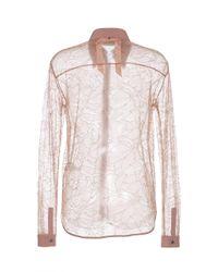 N°21 - Pink Long Sleeve Shirt - Lyst