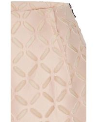 Roland Mouret - Pearl Pink Kelston Shorts - Lyst
