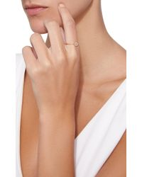 Zoe Chicco - Metallic 14k Pave Diamond Medium Round Disc Ring - Lyst