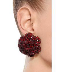 Rebecca de Ravenel - Red Ava Ruby Earrings - Lyst