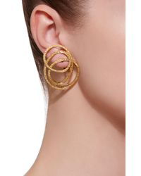 Luz Camino - Yellow Elastic Rubber Earrings - Lyst