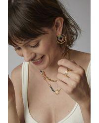Colette - Metallic Multicolored Sapphire Apollo Earrings - Lyst