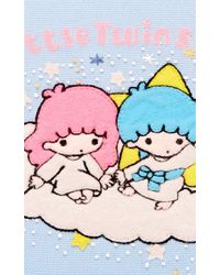 Olympia Le-Tan - Blue Cloud Book Clutch - Lyst