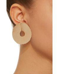 Bia Daidone - Metallic Jackie 24k Gold-plated Earrings - Lyst