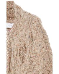 Nellie Partow - Brown Mark Poncho - Lyst