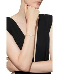 Anna E Alex - Metallic Woven, Silver-plated, Shell And Pearl Bracelet - Lyst