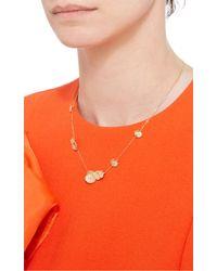 Jordan Askill - Metallic Leaf Necklace - Lyst
