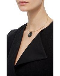 CVC Stones - Black 18k Yellow Gold Line Choker Necklace - Lyst
