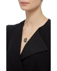 CVC Stones - Black 18k Yellow Gold Me Too Necklace - Lyst