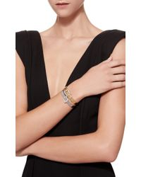 Sidney Garber - Metallic Set Of 2 Gold Buckle Bracelet - Lyst