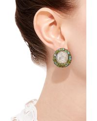 Arunashi | Metallic Sapphire Earring | Lyst
