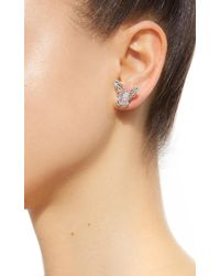 Anabela Chan - Multicolor M'o Exclusive: Butterfly Bouquet Studs - Lyst