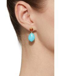 Mallary Marks Blue Apple&eve Sapphire Earrings