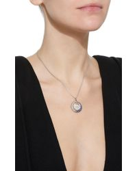 Renee Lewis - White Shake 18k Gold, Diamond And Sapphire Necklace - Lyst