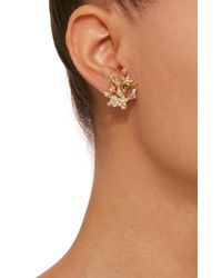 Anabela Chan - Yellow Posy Canary 18k Gold Diamond Earrings - Lyst
