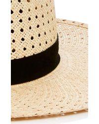 Janessa Leone - Natural Maxime Telescope Panama Straw Hat - Lyst