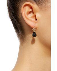 Annette Ferdinandsen - 18k Gold Black Onyx Earrings - Lyst