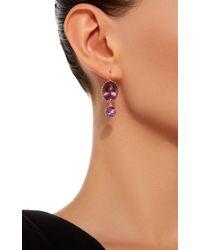 Renee Lewis - Purple 18k Gold Amethyst Earrings - Lyst