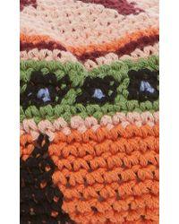 Etro - Orange Knit Beret - Lyst