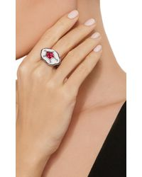 Arunashi - White One-of-a-kind Ruby Ring - Lyst