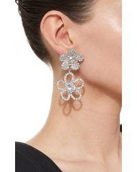 DANNIJO - White Marigold Earrings - Lyst
