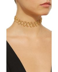 Joanna Laura Constantine - Metallic Gold-plated Multi Knot Choker Necklace - Lyst