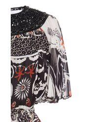 Zuhair Murad - Multicolor Koli Graphic Print Chiffon Dress - Lyst