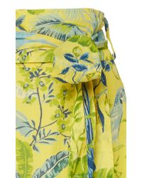 Banjanan - Yellow Discovery Printed Cotton Skirt - Lyst