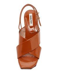 Reike Nen - Brown Criss Cross Sandal - Lyst