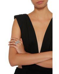 Jack Vartanian - Gray 18k White Gold Diamond Ring - Lyst